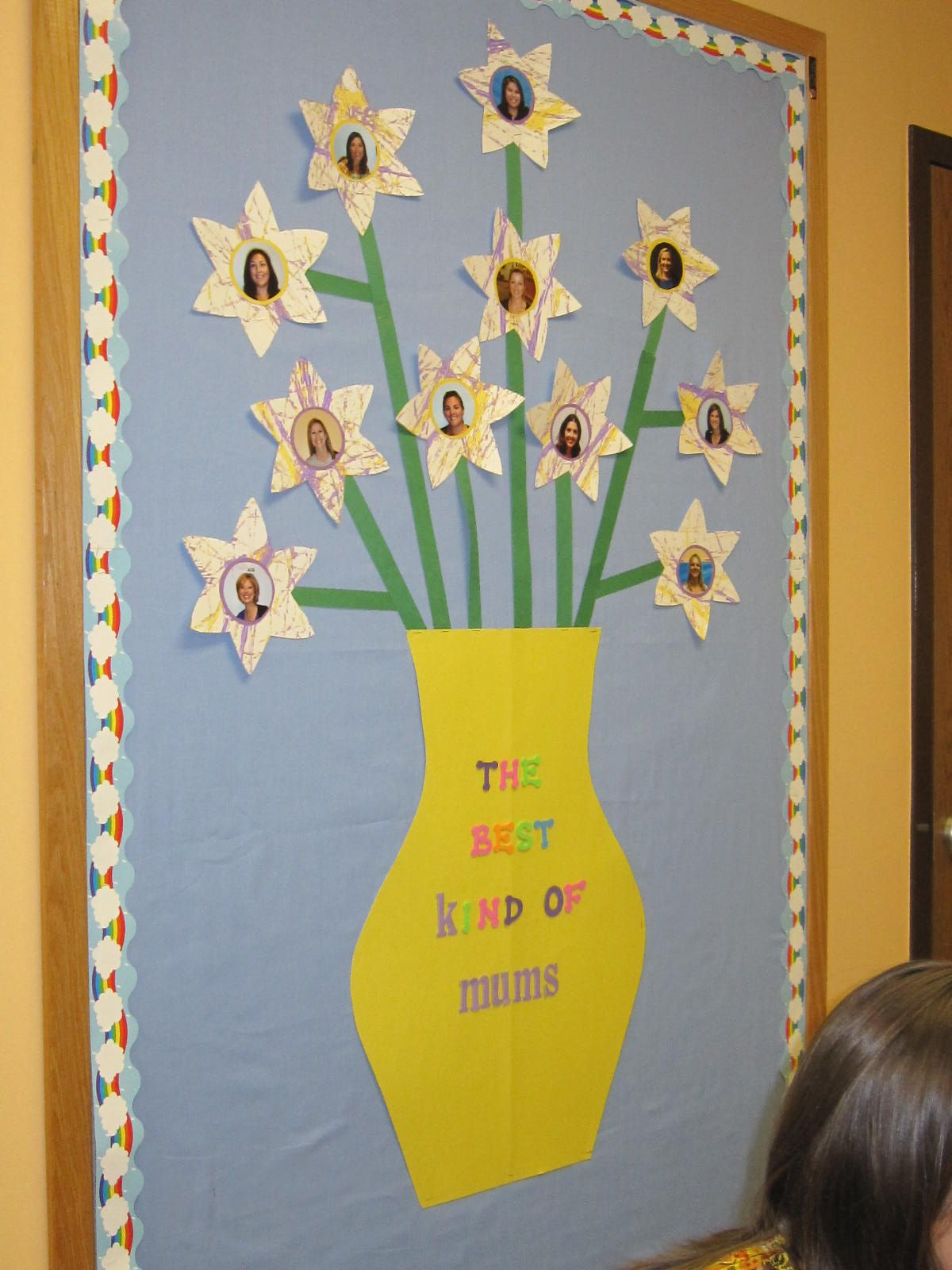 mother's day bulletin board. cute!   May: Mother's Day ...
