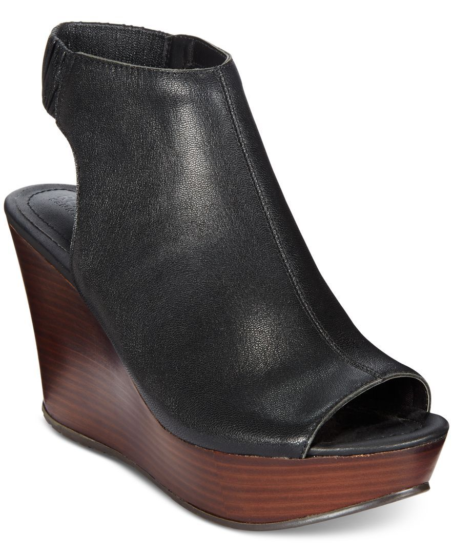 d16bc9e3e30 Kenneth Cole Reaction Sole Chick Platform Wedge Sandals