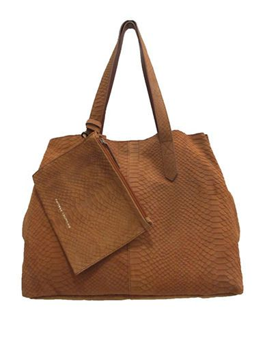 Chinese Laundry Karlina Deconstructed Tote Women's Cognac