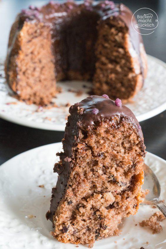 Rotwein-Gugelhupf mit Schokolade | Backen macht glücklich