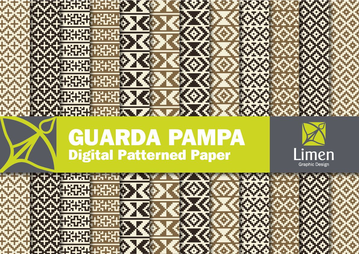 Digital Paper Pack: Guarda Pampa Design Scrapbooks and by limen ...