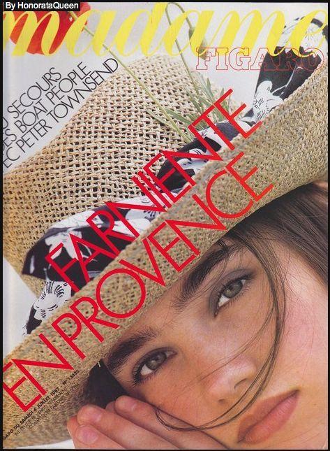 Jennifer Connoly  -  Madam Figaro July 1987