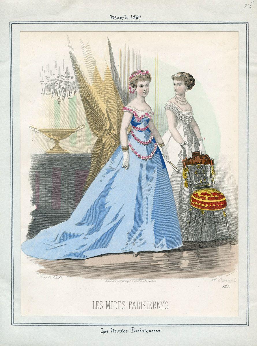 Les Modes Parisiennes March 1867 LAPL