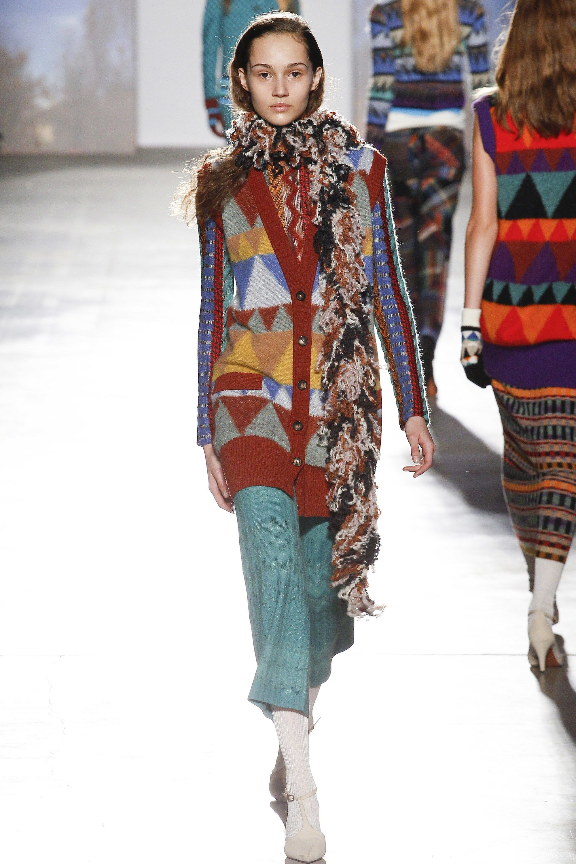 Missoni Fall 2017 Ready-to-Wear Collection Photos - Vogue