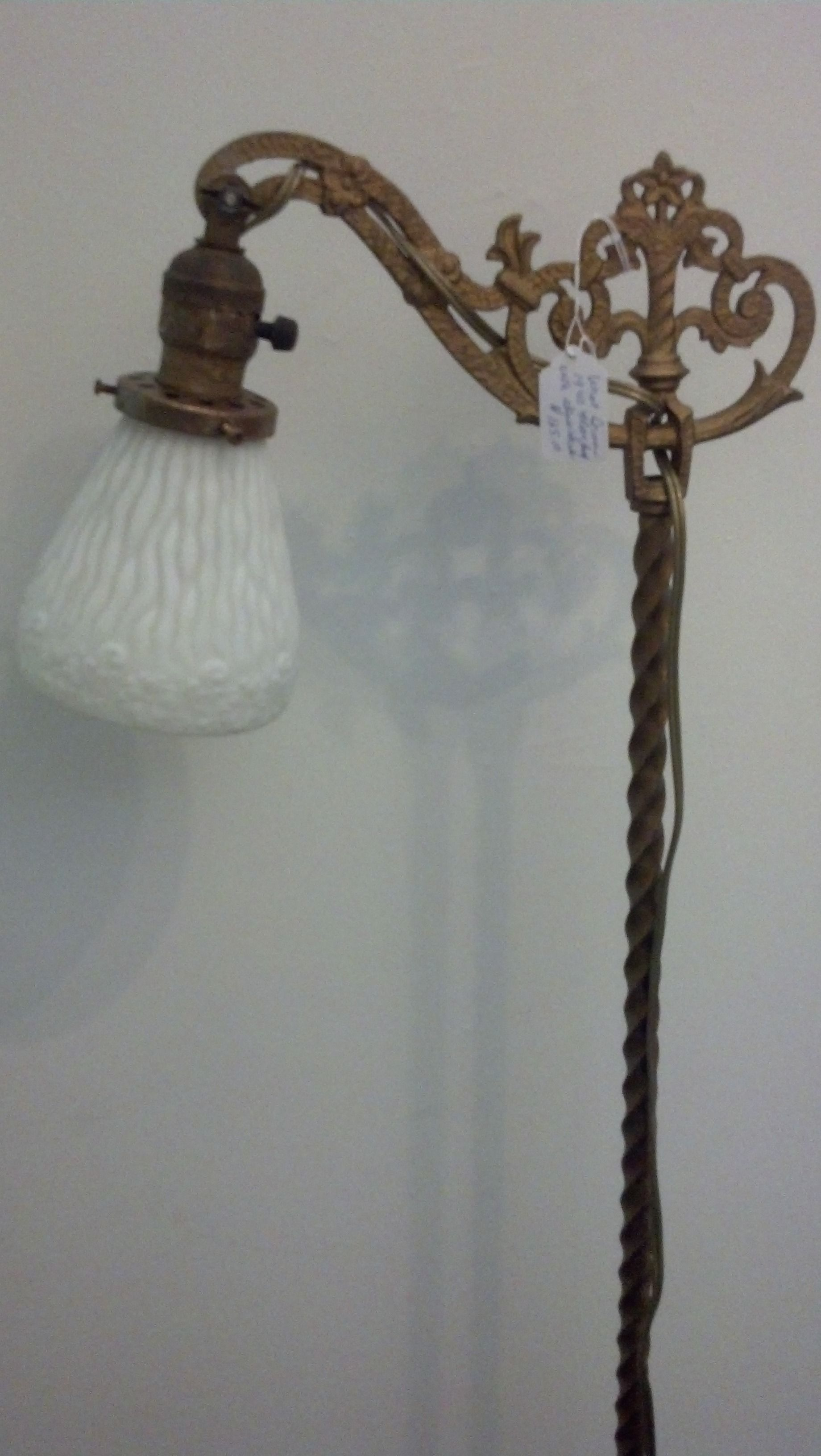 1940 S Iron Floor Lamp 125 Iron Floor Lamp Antique Lighting Floor Lamp