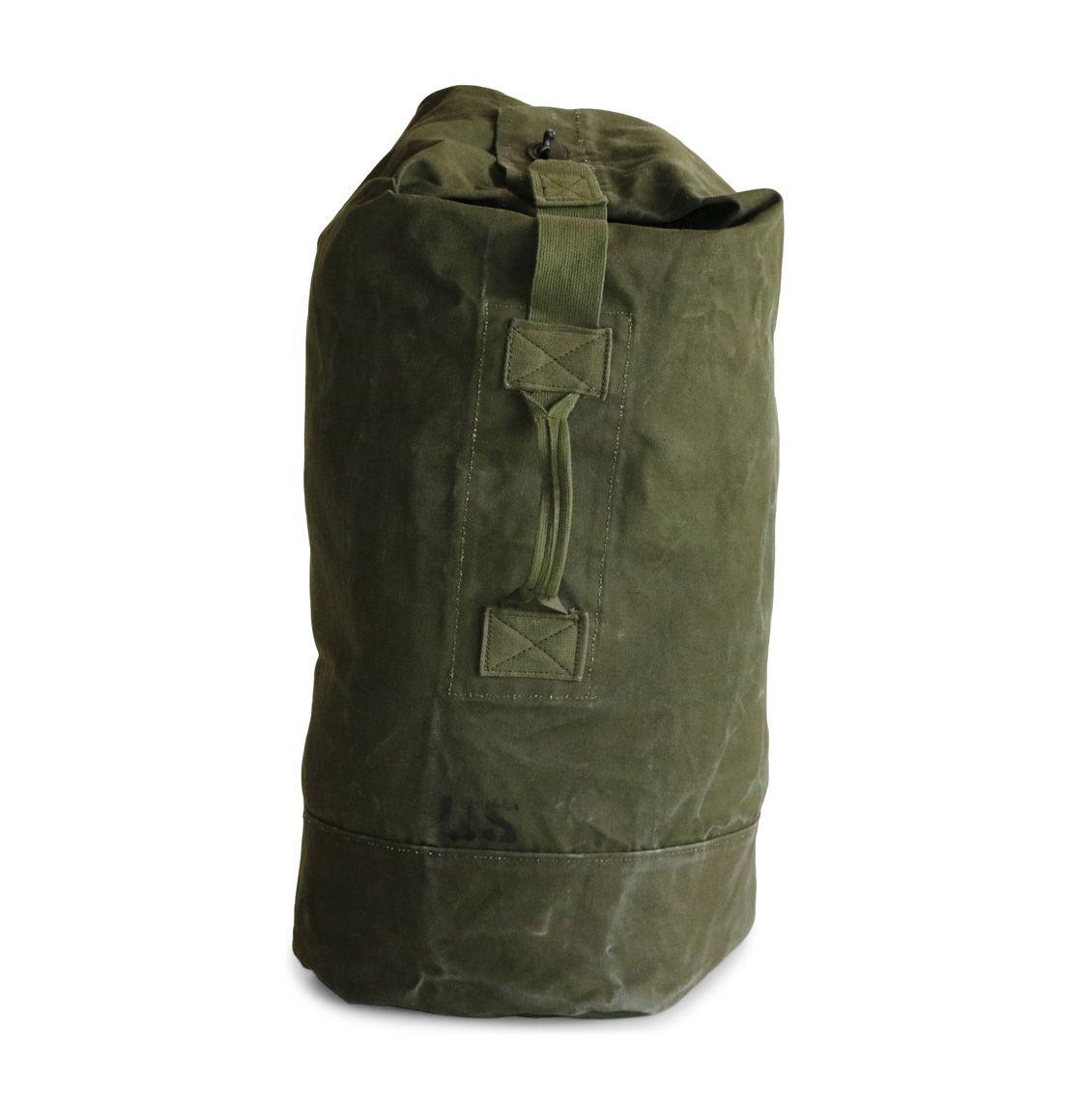 121235b557c7 U.S. Army Green Duffle Bag