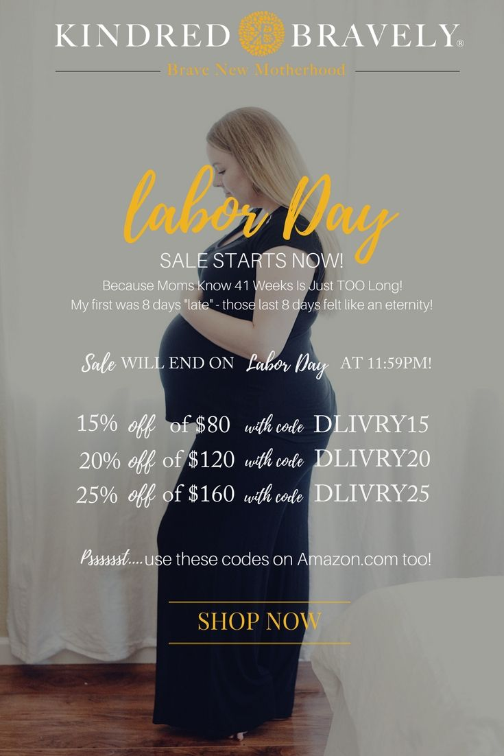 775240e46badf Labor Day Sale on Kindred Bravely! This sale will end on Labor Day 2017 at  11:59PM 15% off $80 with code DLIVRY15 20% off $120 with code DLIVRY20 25%  off ...