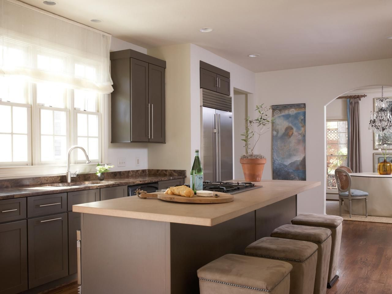 Warm Paint Colors for Kitchens: Pictures & Ideas From   Farbschemata ...