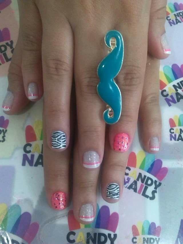 Trabajos de este Spa, que son una obra de arte... Candy Nails
