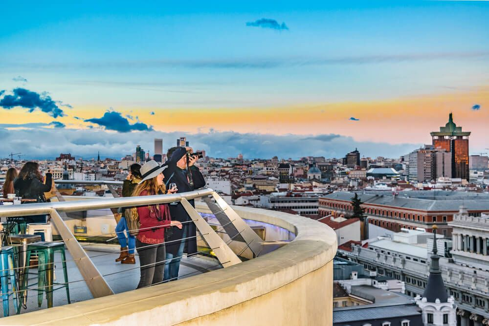 A Self Guided Walking Tour Of Madrid With Map In 2020 Madrid Travel Madrid Spain Travel Madrid Walking Tour