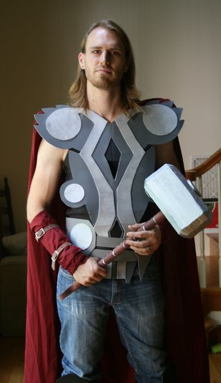 How to make a thor costume thor thor costume and easy costumes costumes solutioingenieria Choice Image