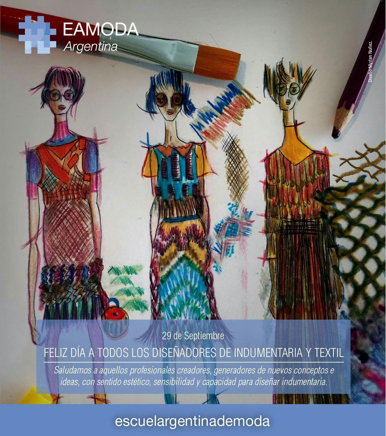 D a del dise ador de indumentaria dise o de indumentaria for Escuela argentina de diseno
