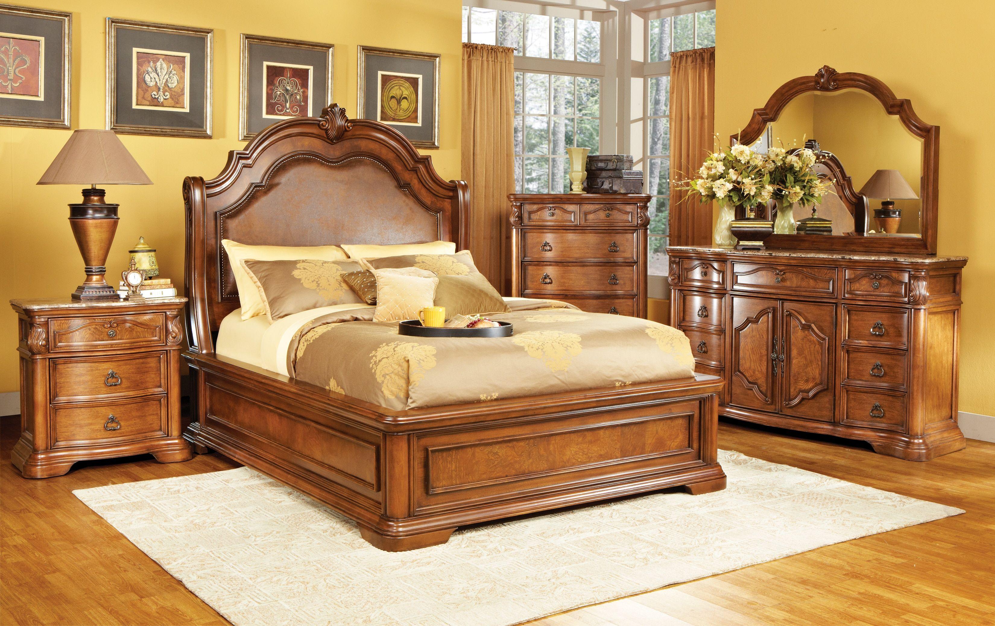 rosabelle 5 pc queen bedroom  queen bedroom sets dark