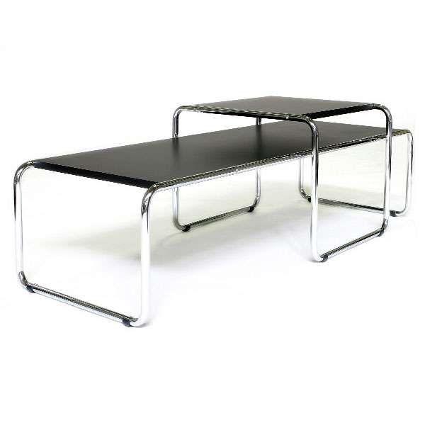 marcel breuer table laccio coffee table set 1925 - Marcel Breuer Tisch