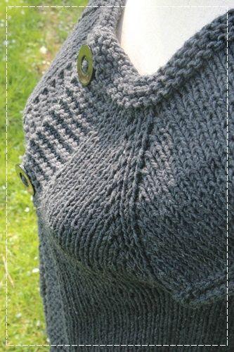 tuto gilet saint lary le blog de la f e rouge tricot crochet macram tricot crochet. Black Bedroom Furniture Sets. Home Design Ideas
