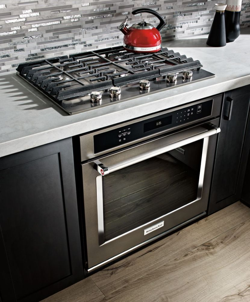 kitchenaid 30 built in single electric convection wall on wall ovens id=44627