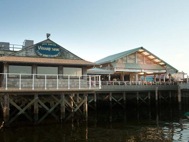 Wharfside Patio Bar Restaurant Pt Pleasant Nj My Pas Retired To Point And Adored The Sister Taught High School In