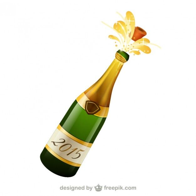Bottle Of Champagne Free Vector Champagne Bottles Bottle Champagne Bottle