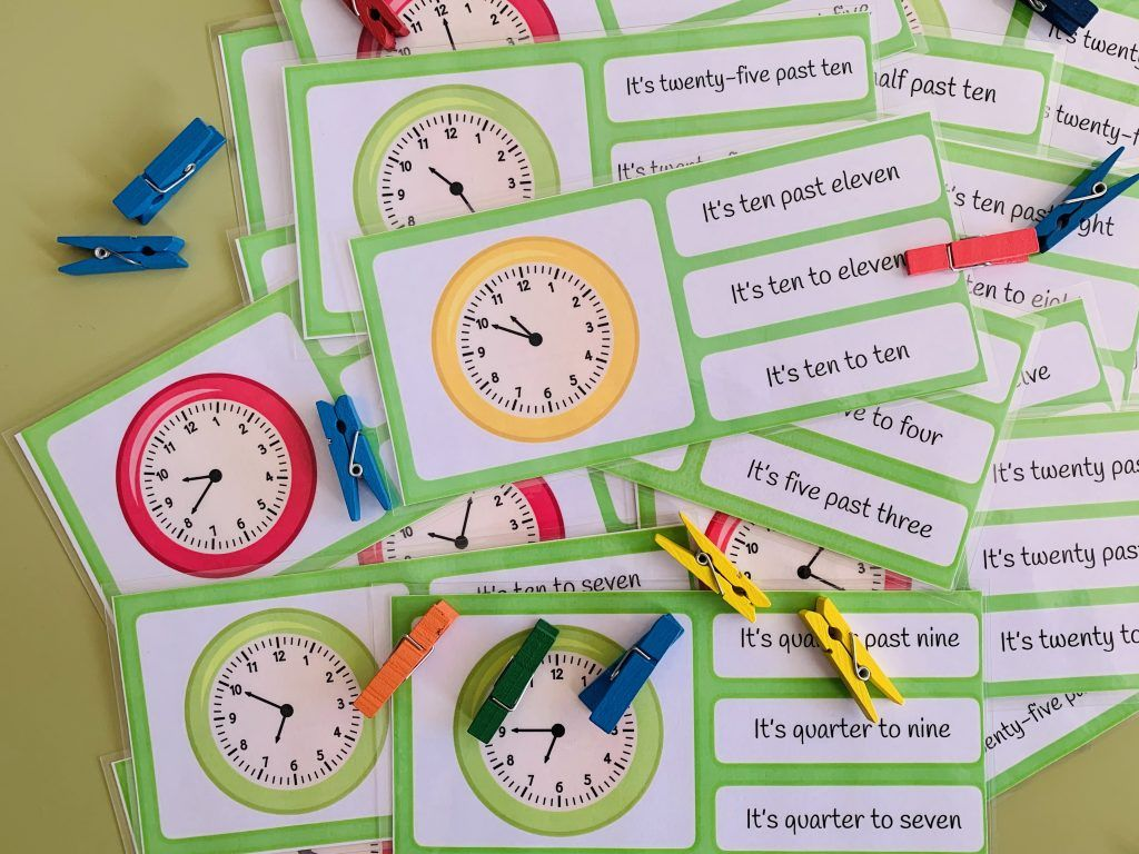 What Time Is It English And Spanish Version En