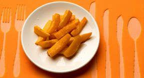 Frites de potiron