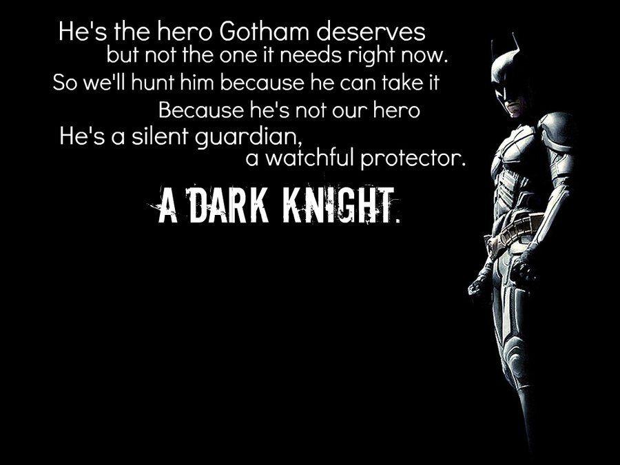 The Dark Knight Quotes: The Dark Knight Quotes