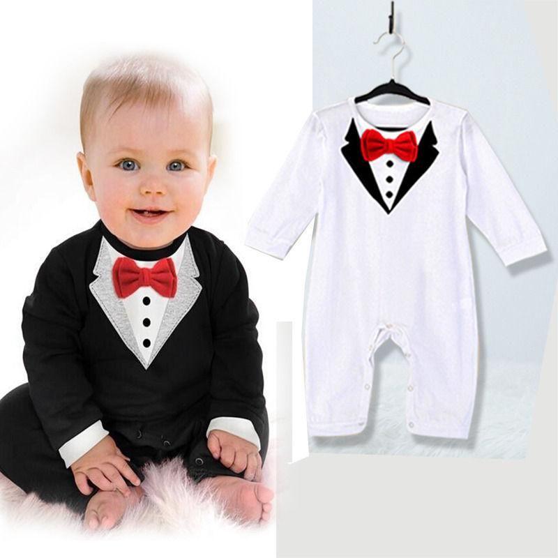 9504d47cd Gentleman Suit Formal Romper