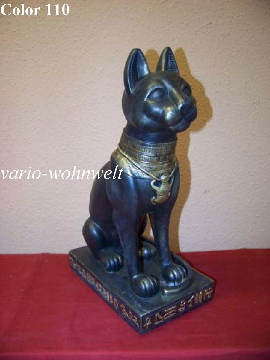 Ägypten Ägyptische Figur Tier Skulptur Katze Basket Pharao 2801/Mat.:  Kunstharz | EBay