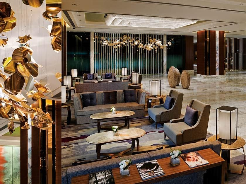 The Kerry Hotel, Entrance Lobby | LOBBY/FRONT/RECEPTION/LOUNGE ...