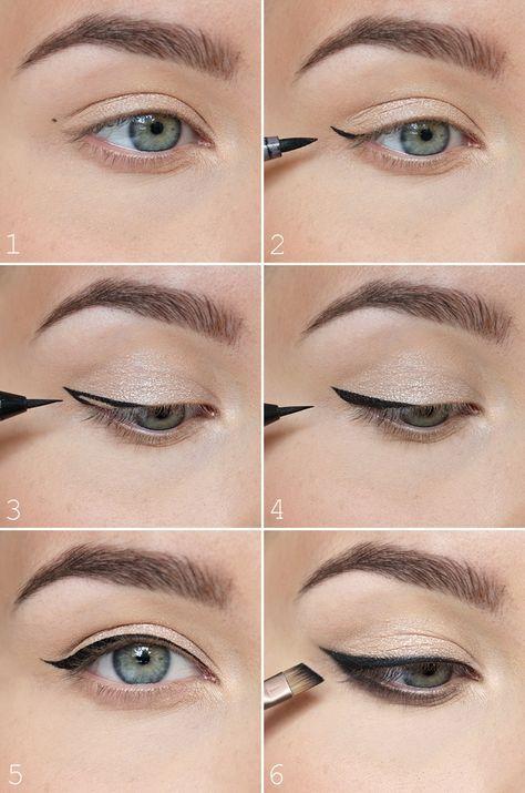 7 Tipps zum Tragen von Liquid Eyeliner amzn.to/2s3vVGJ  #2s3vvgj #eyeliner #liqu… - Beauty Home