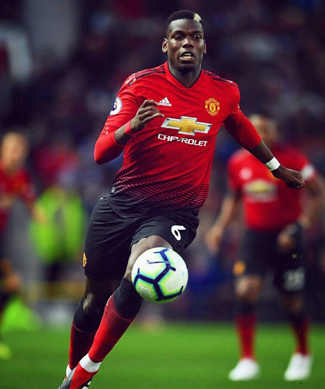 Paul Pogba Manchester United Vs Tottenham Manchester United Football Manchester United Football Club Paul Pogba Manchester United