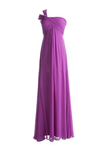 Diyouth One Shoulder Column Long Chiffon Bridesmaid Dress Size 16 Diyouth http://www.amazon.com/dp/B00LSV5JNI/ref=cm_sw_r_pi_dp_ZJpQvb0CKQ720
