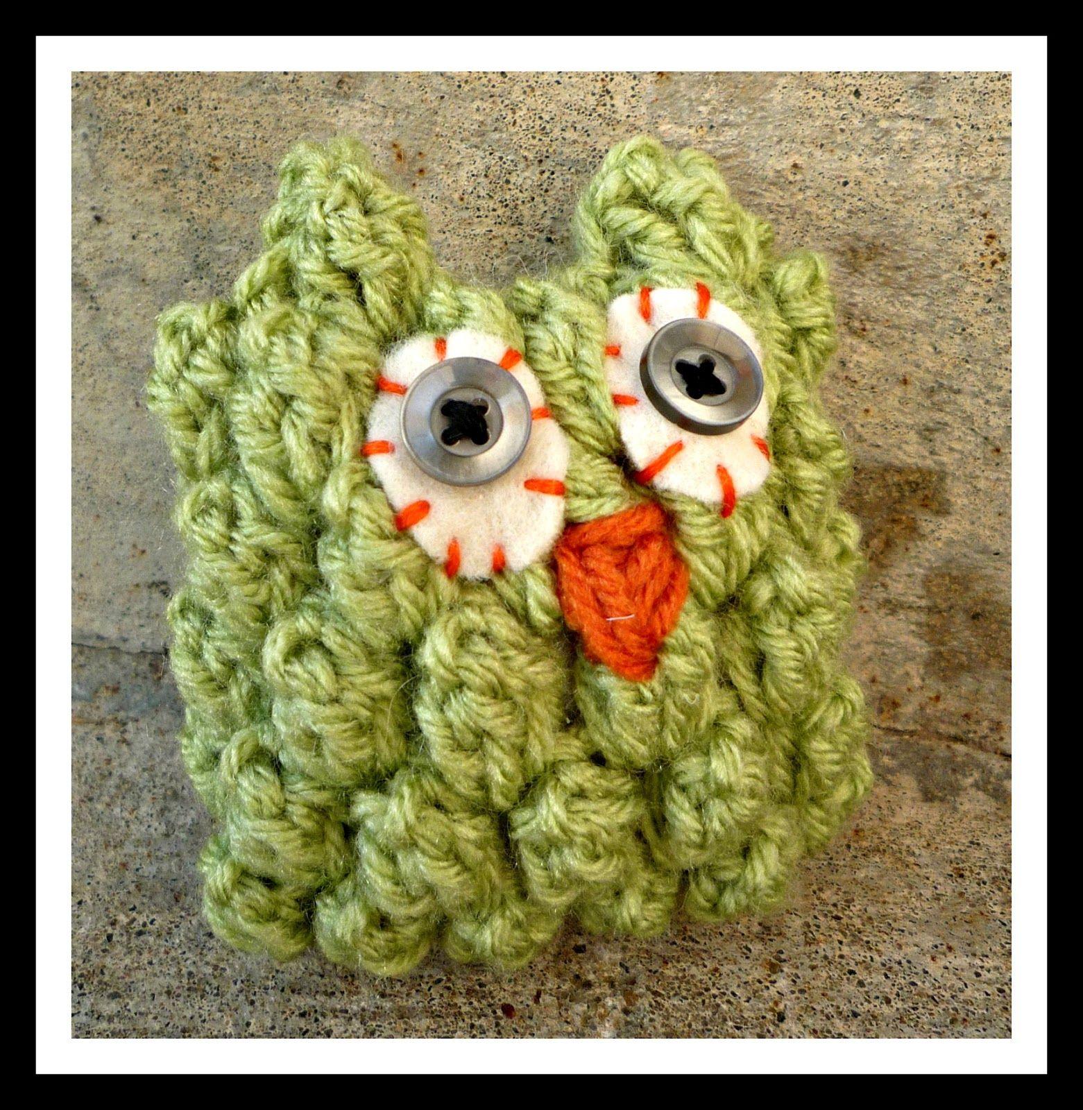 Crochet Bobble Owl - Tutorial | Crochet owls | Pinterest | 3d