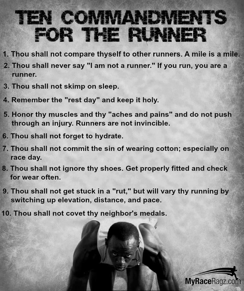 10 Commandments Movie Quotes: Funny Running Quotes On Pinterest