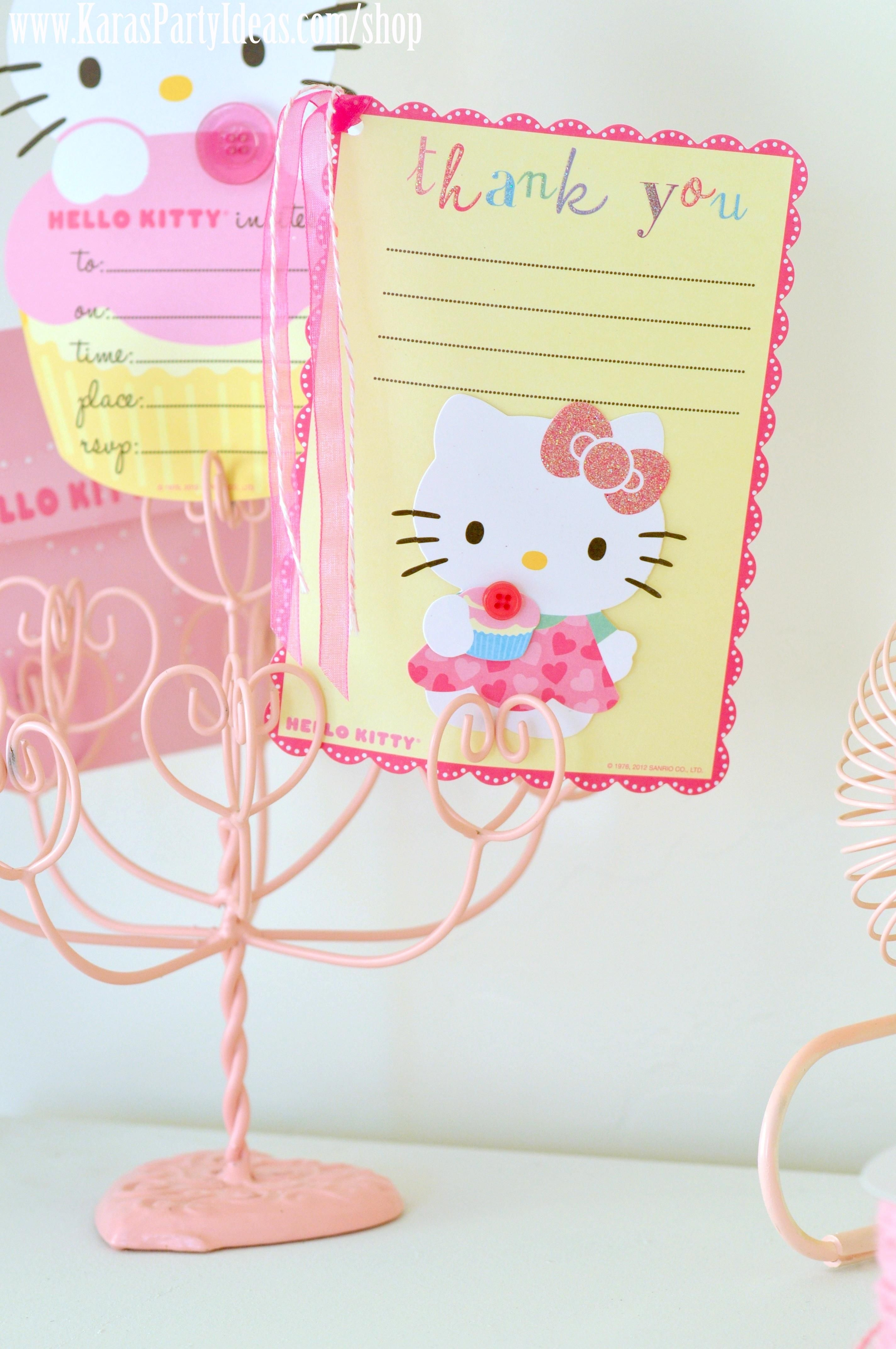 bc4dd063f hello kitty party | Hello Kitty Birthday Party Planning Cupcakes  Decorations Kara's Party .