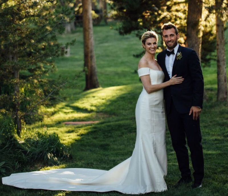 Tv Host Erin Andrews Married Former Nhl Star Jarret Stoll On