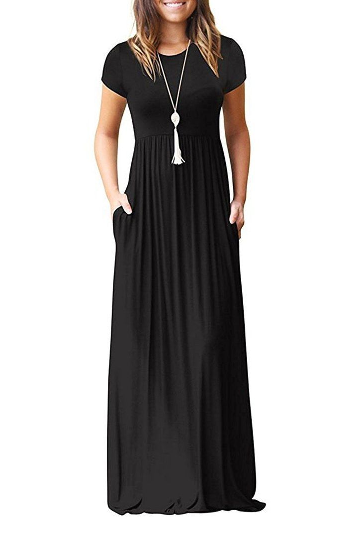This maxi dress is a bestseller on amazon u it comes in colors