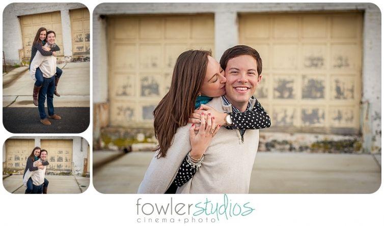 Engagements // Chad & Elizabeth Engagement, Fun couple