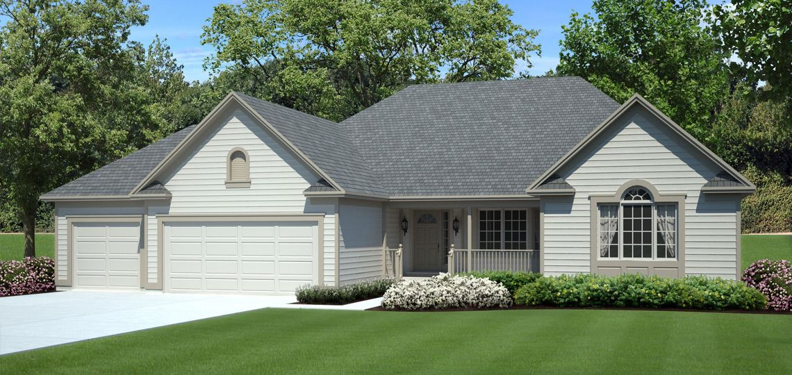 3 bedroom house plan: hartwood | 84 lumber. this home delivers a
