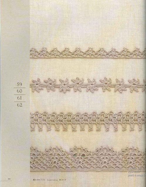 PATRONES GRATIS DE CROCHET: Patrón gratis de unas lindas puntillas a ...