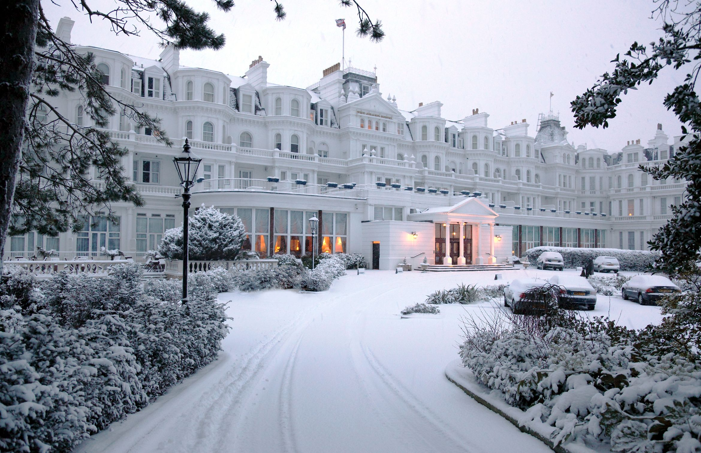Winter at The Grand Hotel #Eastbourne #Sussex