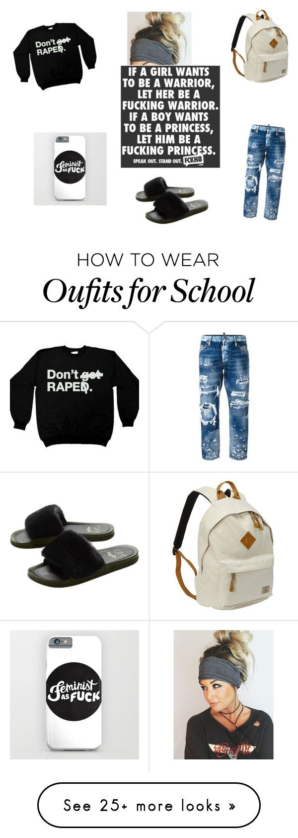 """lazy tuesday"" by bluefirefox on Polyvore featuring Dsquared2 and Everest"
