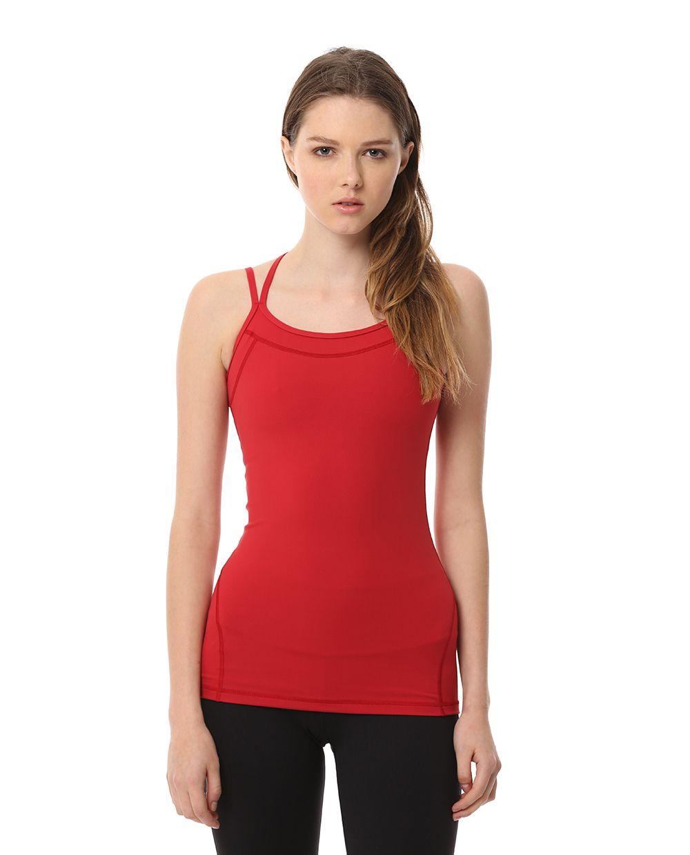 AUMNIE :: EDGE TANK HEART  #yoga #pilates #yogatank #yogatop #yogawear #fittnesswear #sportswear