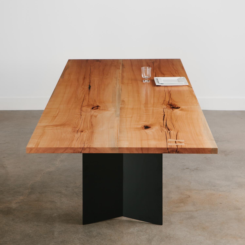Maple Dining Table Dining Table Modern Dining Table Live Edge