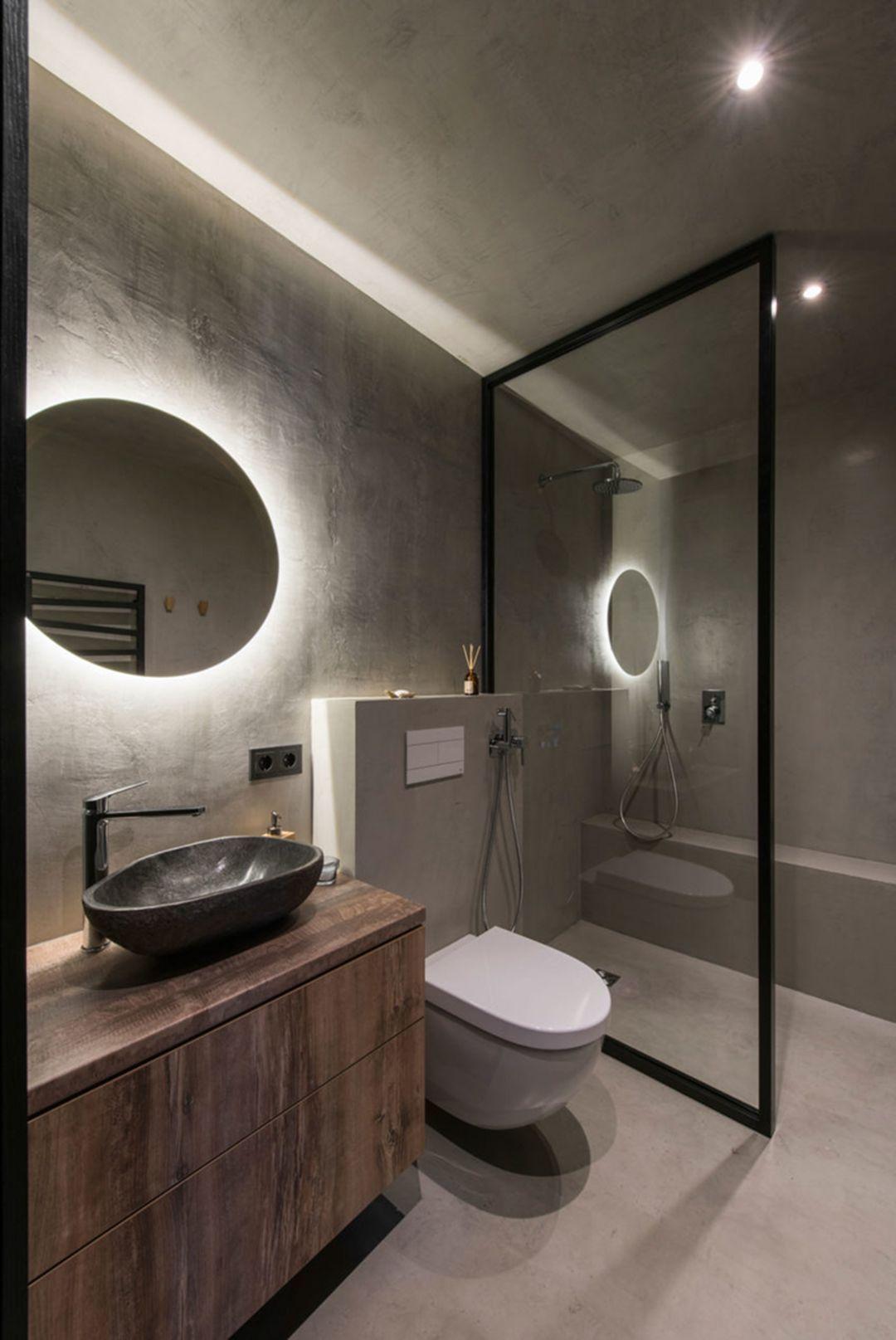 30 Incredible Industrial Bathroom Design And Decoration Ideas Industrial Style Bathroom Industrial Bathroom Decor Industrial Bathroom Design