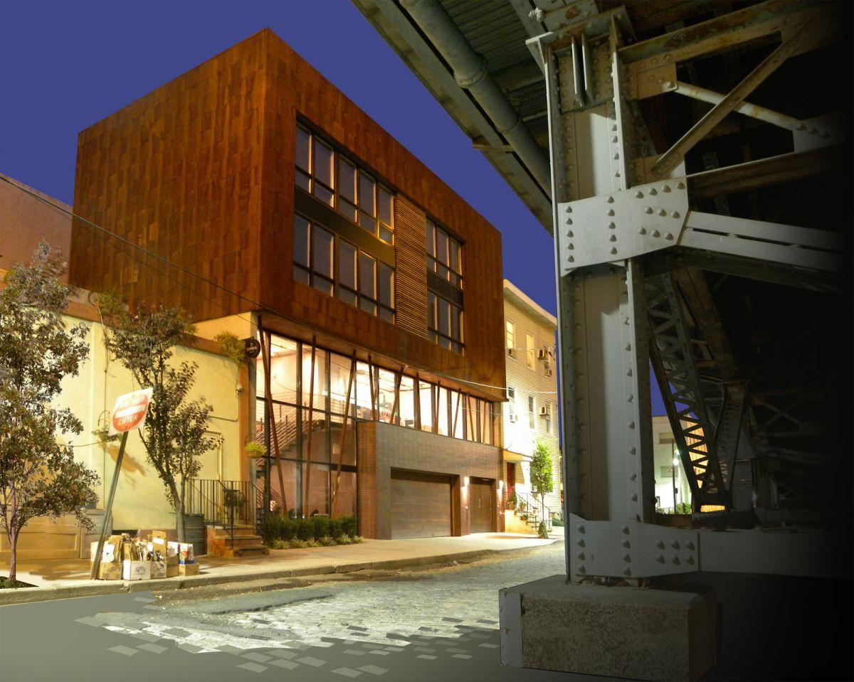 Small Office Architecture Design: Small Urban House Designs