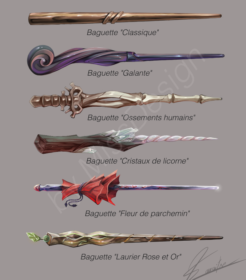 Some Wands In Harry Potter Style By Missdesign33 Deviantart Com On Deviantart Harry Potter Wand Harry Potter Style Wands