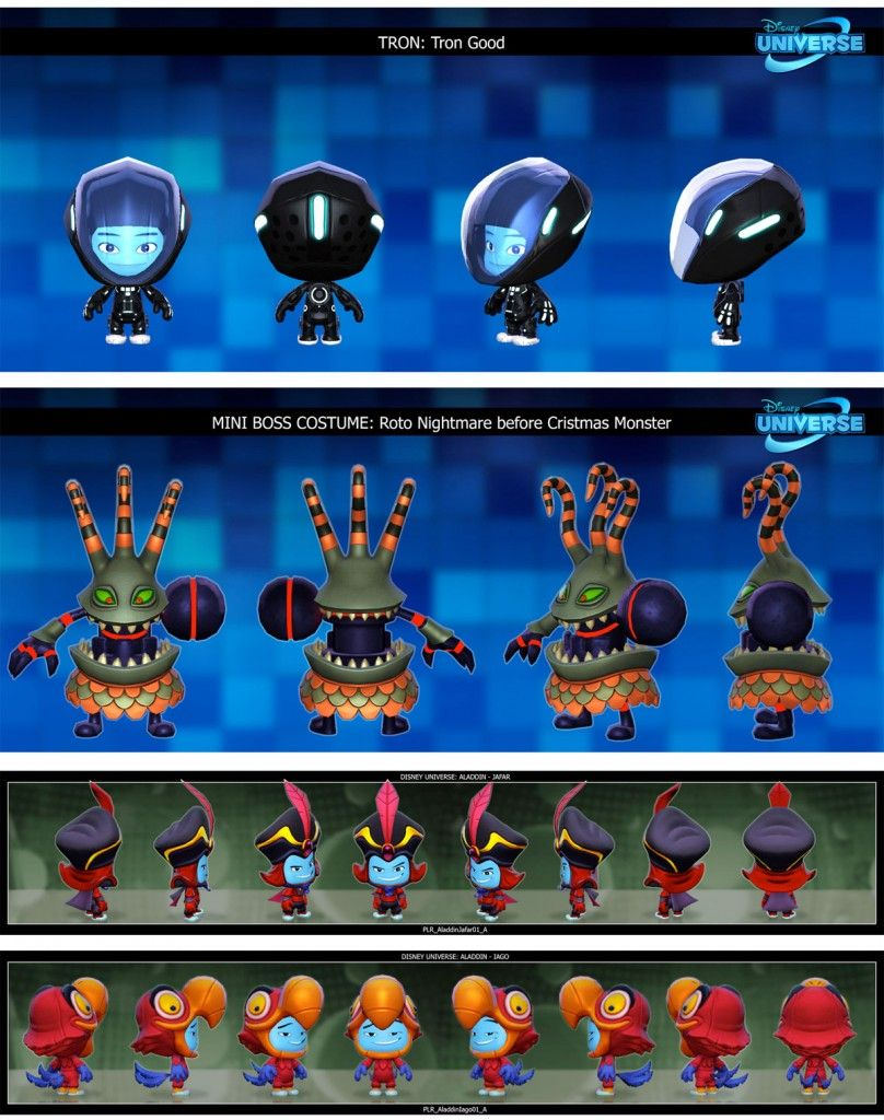 Disney Character Design Game : Artes do game disney universe character design