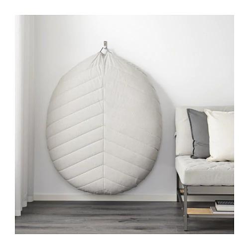 Terrific Dihult Puf Katorp Naturalny Mieszkanie In 2019 Floor Machost Co Dining Chair Design Ideas Machostcouk