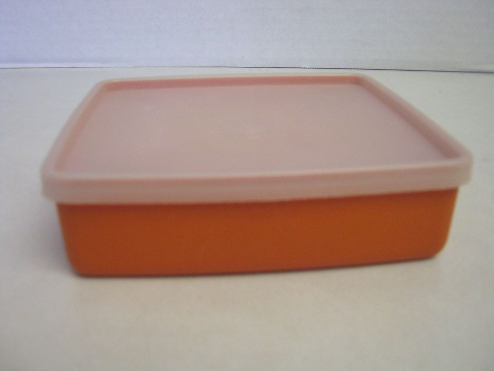 Tupperware Sandwich Keeper Orange Container CLEARANCE SALE Ebay