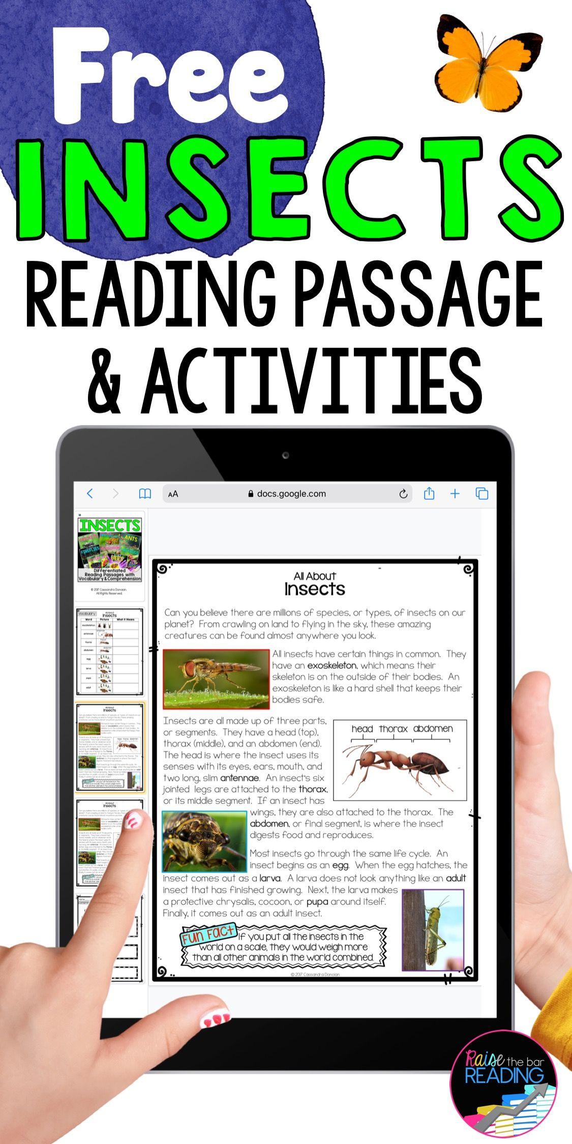 Free Digital Reading Activities Nonfiction Reading Activities Reading Comprehension Passages Reading Comprehension [ 2249 x 1125 Pixel ]